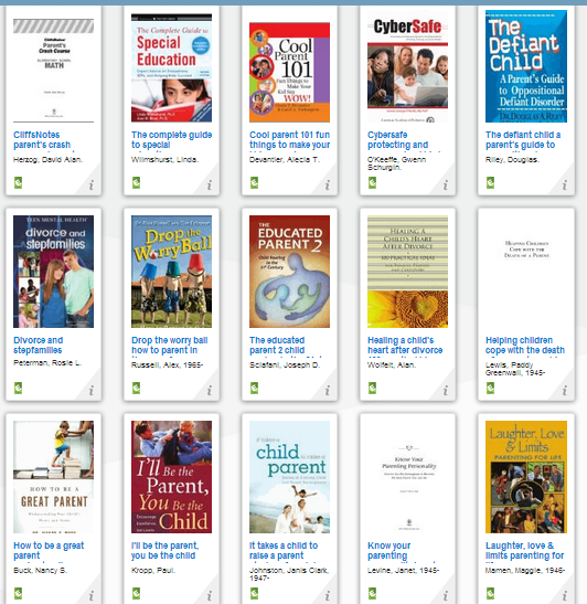 parent resource books